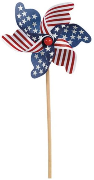 Patriotic Wood Pinwheel