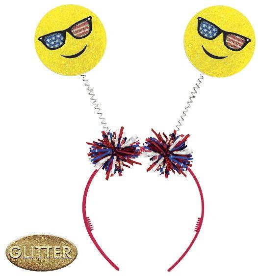 Patriotic Emoji Head Bopper
