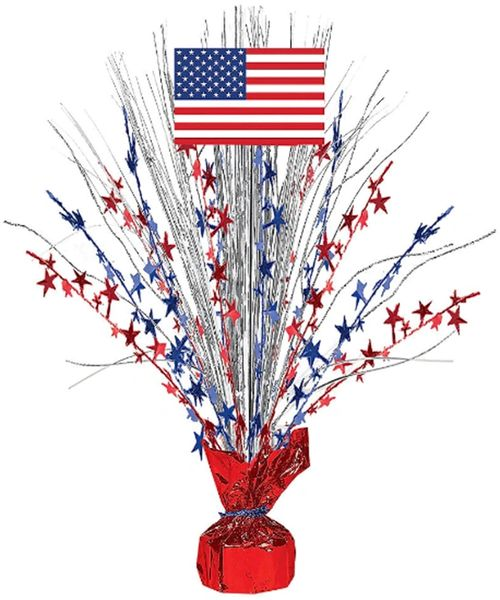 Patriotic Large Spray Centerpiece