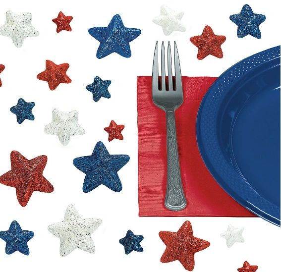 Patriotic Table Sprinkles, 32ct