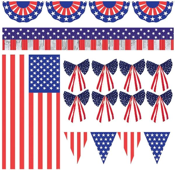 Patriotic Ultimate Outdoor Decorating Kit, 12pc