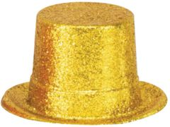 Gold Hollywood Top Hat