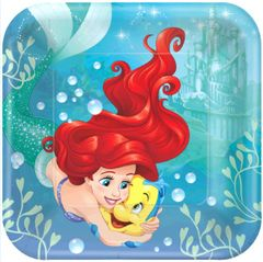 "©Disney Ariel Dream Big Lunch Plates, 9"" - 8ct"