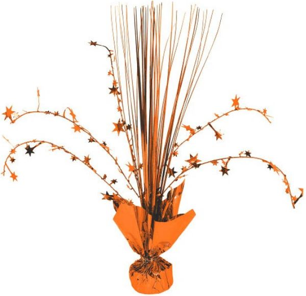 Foil Spray Centerpiece - Orange Peel