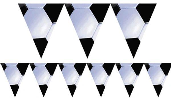 Soccer Pennant Banner, 12ft