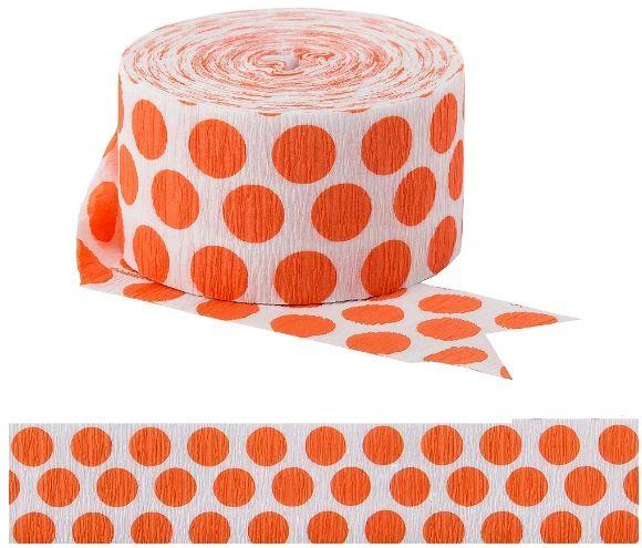 Dots Crepe - Orange Peel, 81ft