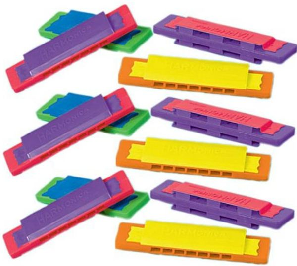 Mini Harmonicas, 12ct
