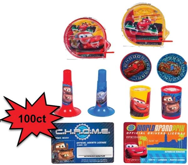 Disney Cars Super Mega Mix Value Pack, 100Ct