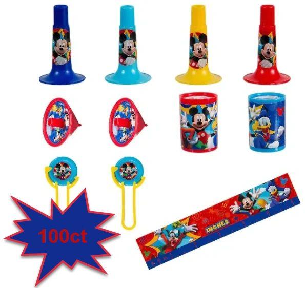 Disney© Mickey Mouse Super Mega Mix Value Pack, 100ct