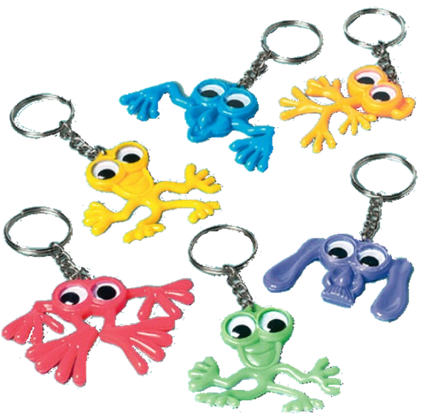 Creature Key Chains, 12ct
