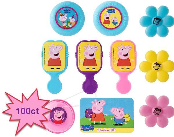 Peppa Pig™ Super Mega Mix Value Pack Favors, 100ct