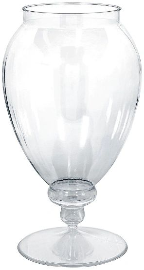 Apothecary Plastic Jar - Clear