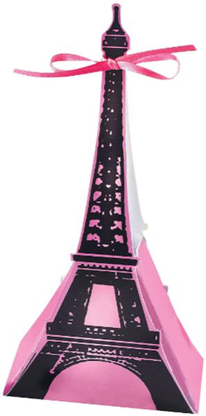 Day in Paris Favor Boxes, 12ct