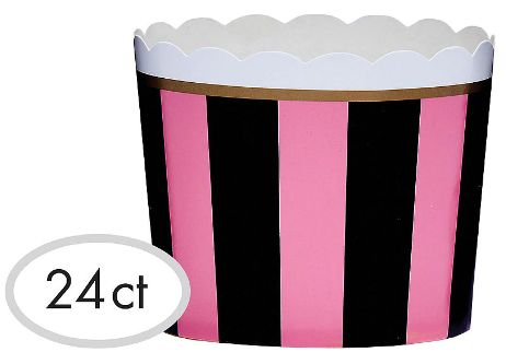 Day in Paris Large Scalloped Cups, 24ct