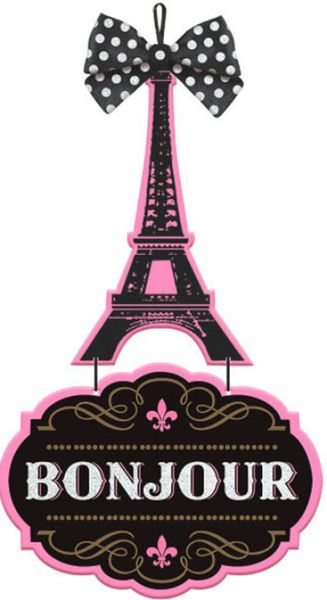 Day in Paris MDF Sign - Deluxe