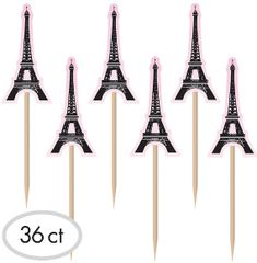 A Day in Paris Party Picks, 36ct
