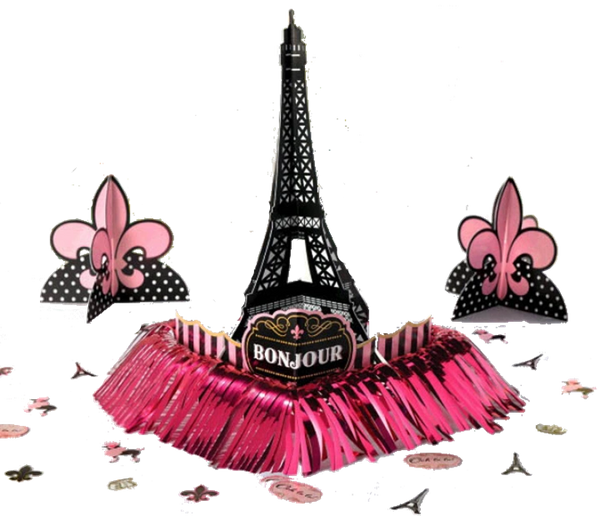 A Day in Paris Table Decorating Kit, 23pc