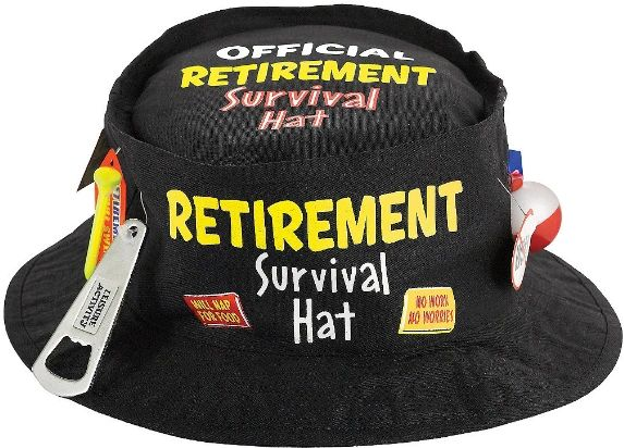 Happy Retirement Celebration Bucket Hat