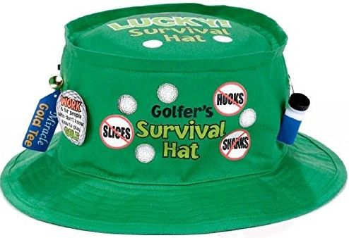 Golfer Survival Hat