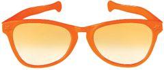 Orange Giant Fun Glasses