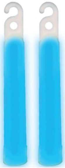 "4"" Glow Stick - Blue, 2ct"