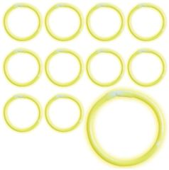 Yellow Glow Bracelets, 12ct