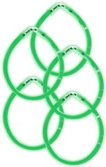 "8"" Green Glow Sticks, 5ct"