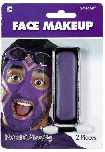 Purple Face Paint Makeup