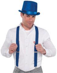 Blue Suspenders
