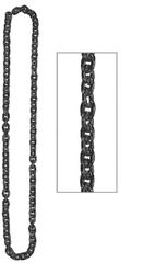 Black Chain Link Necklace
