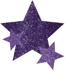 Purple Star Body Jewelry