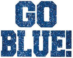 Go Blue Body Jewelry