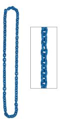 Blue Chain Link Necklace