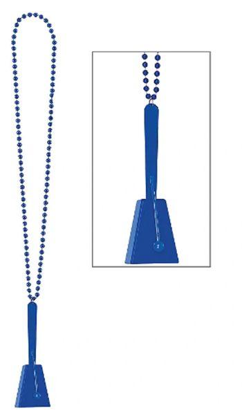 Blue Clacker Necklace