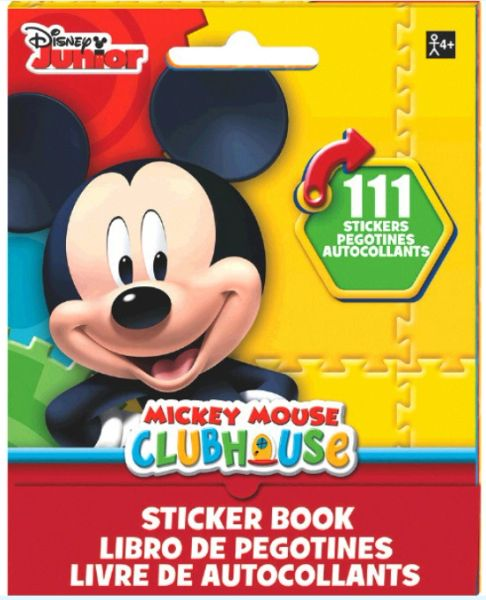 Mickey Mouse Sticker Book, 111 Stickers
