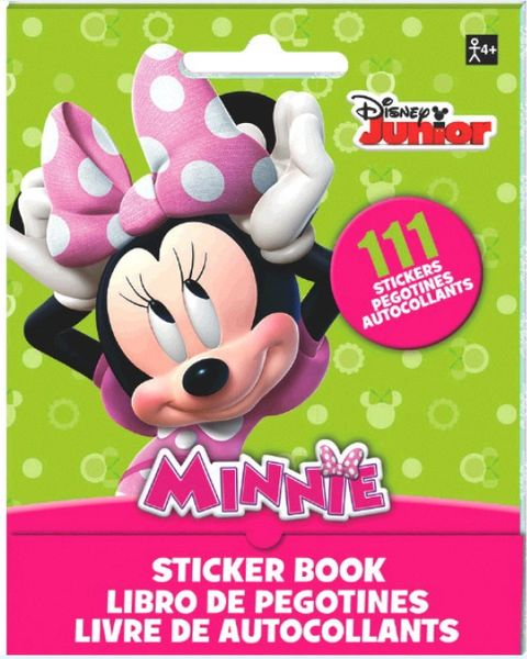 ©Disney Minnie Mouse Sticker Booklet, 111 Stickers