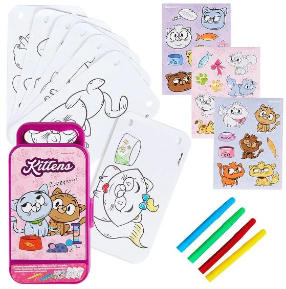 Kittens Sticker Activity Kit