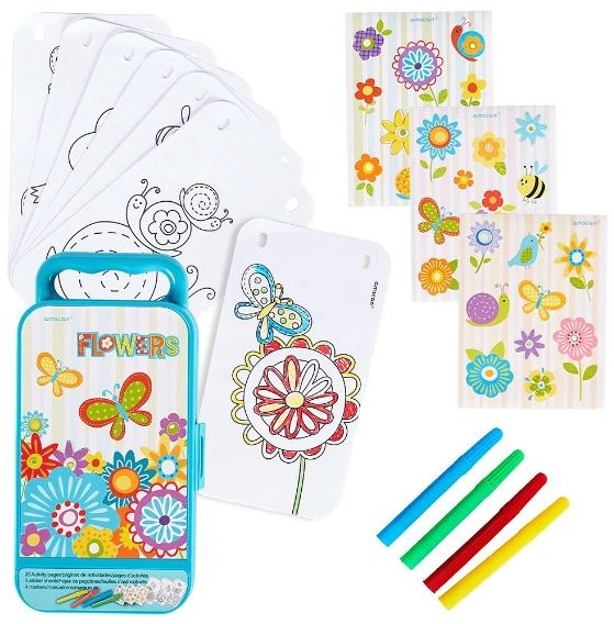 Flower Girl Sticker Activity Kit