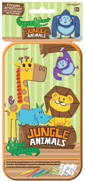 Jungle Animals Sticker Activity Kit