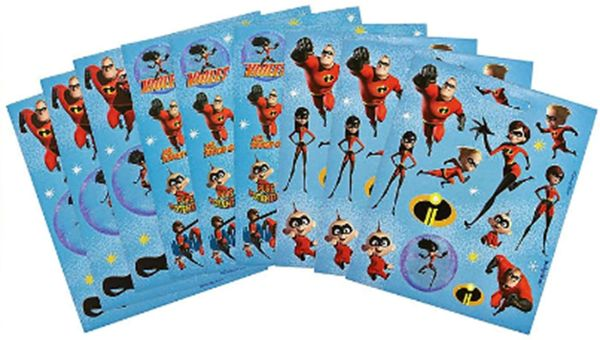 ©Disney/Pixar Incredibles 2 Sticker Booklet, 111 Stickers
