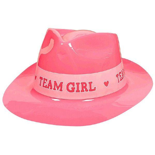 Team Girl Plastic Fedora