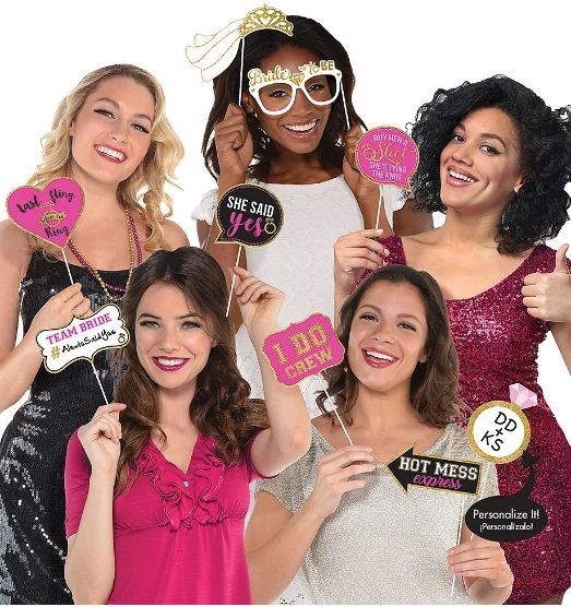 Bachelorette Photo Props, 13ct