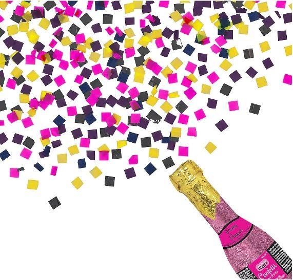 Bachelorette Glitter Bottle Party Popper