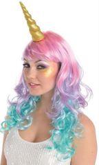 Gold Glitter Unicorn Horn Headband