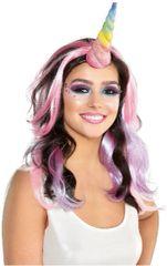 Rainbow Glitter Unicorn Horn