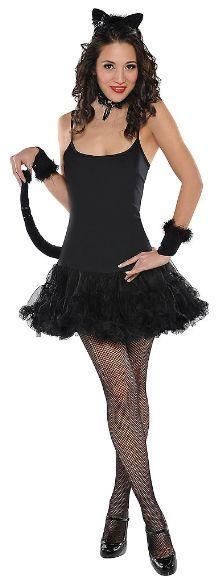 Adult Classic Black Kitty Set, 5pc