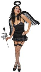 Black Marabou Wings
