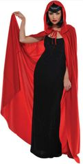 Hooded Red Cape