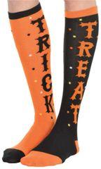 Adult's Trick Or Treat Knee Socks