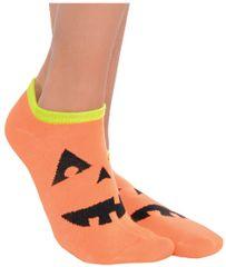 Jack-O-Lantern Ankle Socks